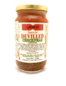 Larich Devilled Chickpea Sauce | Buy Online at the Asian Cookshop